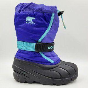 Sorel Flurry Lined Waterproof Winter Snow Boots 13